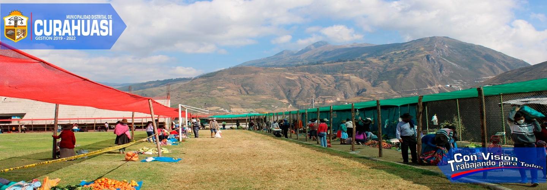 CONTINÚA SERVICIOS DE MERCADO ITINERANTE DE PRODUCTORES AGROPECUARIOS DE CURAHUASI